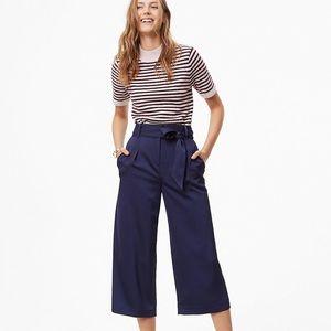 loft blue wide leg trousers // size 10